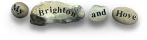 My Brighton and Hove pebble logo