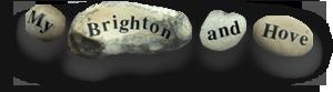 My Brighton and Hove pebble logo